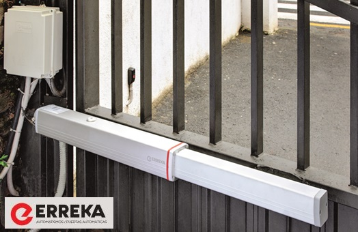 Puertas autom ticas puertas de garaje revista for Motor puerta automatica