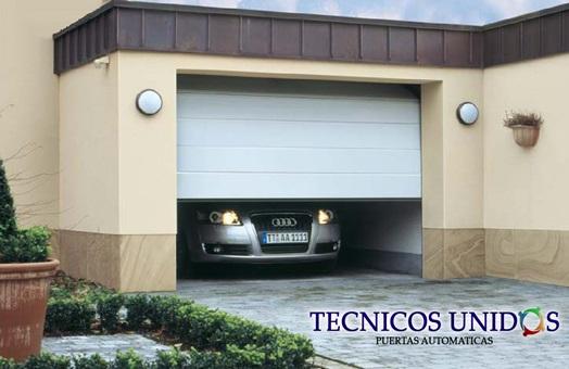 Puertas autom ticas puertas de garaje revista for Puertas automaticas garaje